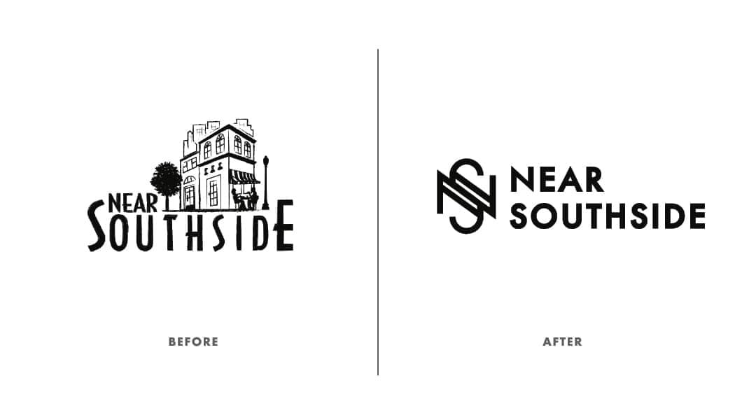Before and After Near Southside Logo