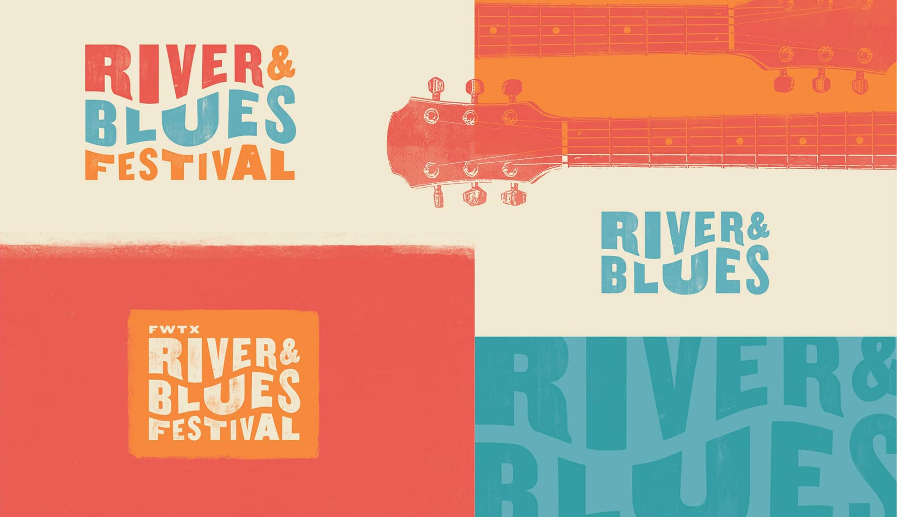 River and Blues Campaign Branding